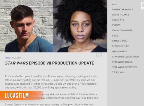 News video: 'Star Wars: Episode VII' Adds Two New Cast Members