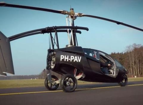 News video: PAL-V, The New Flying Car